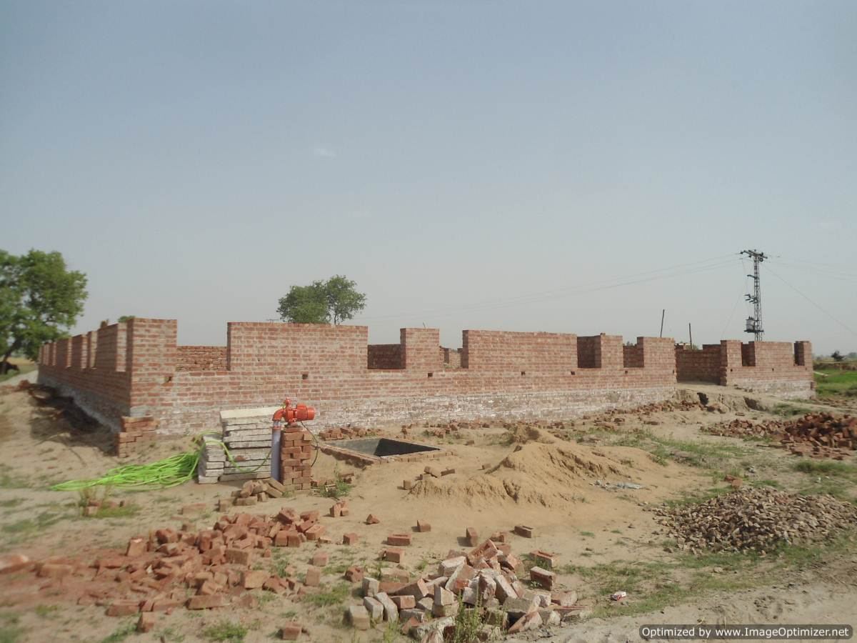 Building a New School in Bhun Khurd